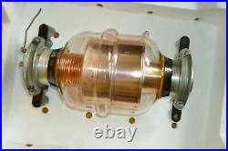 Vacuum Variable Capacitor KP1-4 20-1000 pF 10 kV + Dielectric FLANGES