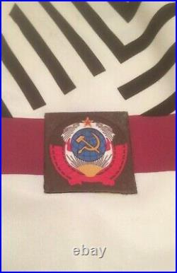 Very Rare Vintage Original USSR Soviet Union Final Shirt 1991 Very Good CCCP M