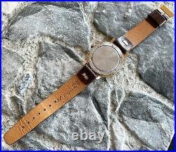 Vintage POLJOT cal. 2614.2H USSR 70s old wrist watch 17 Jewels GOLD PLATED