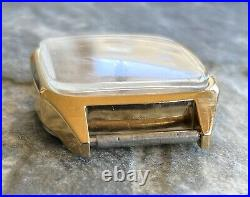 Vintage RAKETA cal. 2614. HA old USSR 70s wrist watch GOLD PLATED