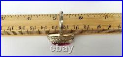 Vintage Russian Soviet Sterling Silver 875 USSR Ring Alexandrite, Women's Jewelry