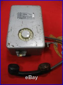 Vintage STREET payphone PHONE 1984 PAST CENTURY Soviet Union USSR Russia
