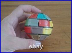 Vintage USSR Logi-Vip in 1980's from Armenian Erevan. Soviet Twisty Puzzle