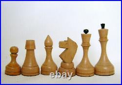 Vintage USSR Wooden CHESS SET Board 40x40 cm Big Russian chess! Full Set