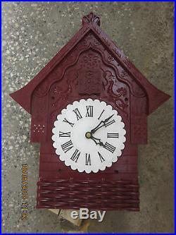 Vintage bakelite Russian USSR Cuckoo Clock Majak Soviet Union