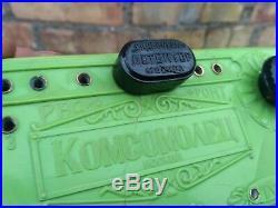 Vintage rare crystal radio Komsomolets Soviet Union USSR Detector radio