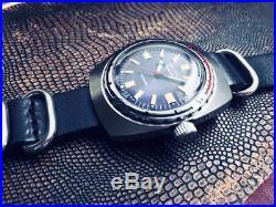 Vostok Amphibian watch 2209 Original USSR Mens Vintage Wrist Watch+Leather Strap