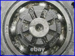 WW II Russian relic original cogwheel of T-70 SU-76 tank with bearing