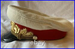 WW2 Soviet Marshal Of The Soviet Union General Officers Visor Hat Cap RKO Type