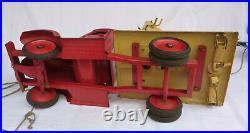 XXL Blechspielzeug LKW Kranwagen 57 cm lang! Sowjetunion ca. 1955 USSR