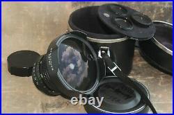 Zodiak-8B 3.5/30 Fish Eye lens Wide Angle Medium Format, Kiev-88, Salut-S Mount